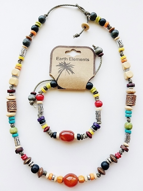 Bahamas Beach Earth Elements Necklace Bracelet Spiritual