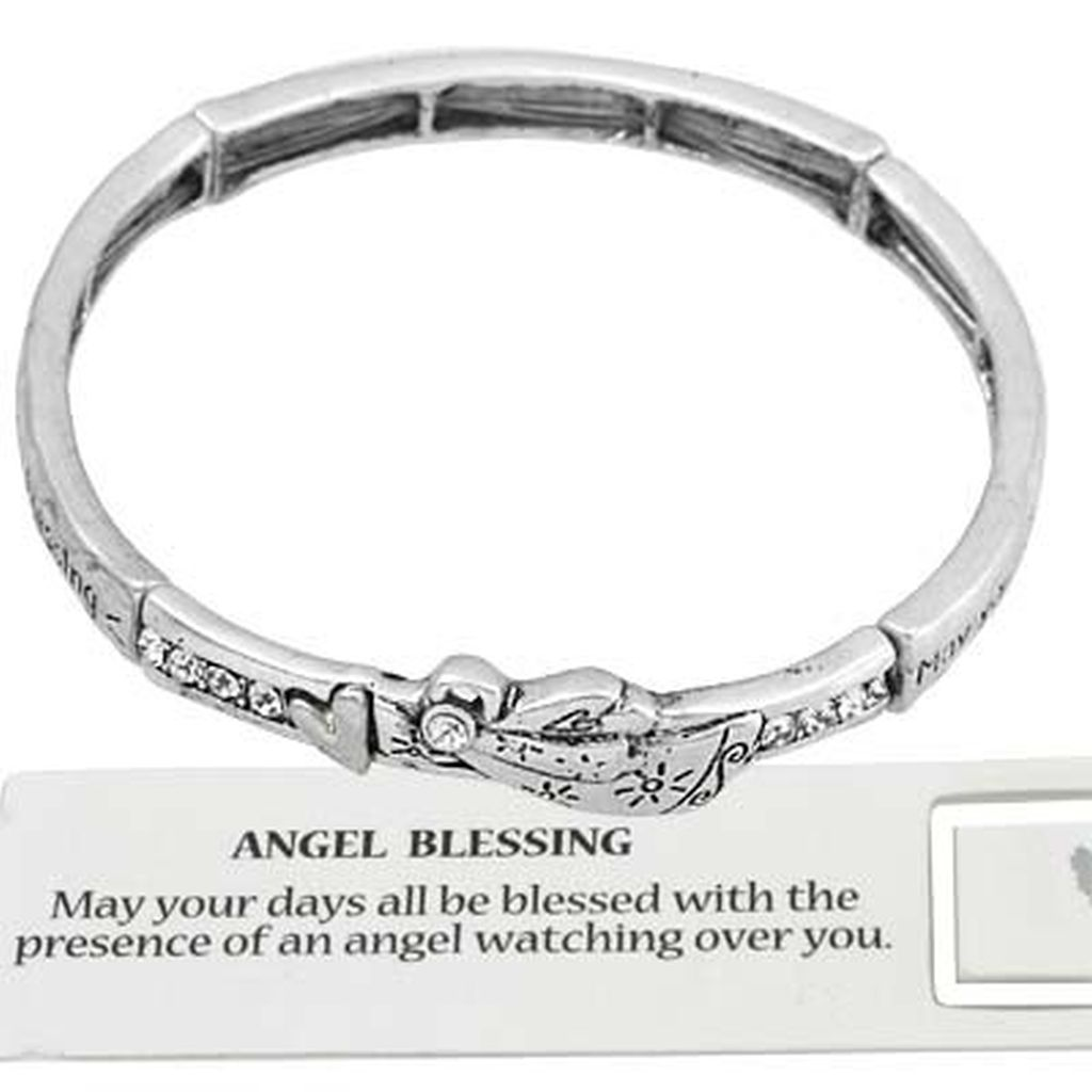 message back bracelet plated com bangle notonthehighstreet look inspirational lovethelinks original by silver product