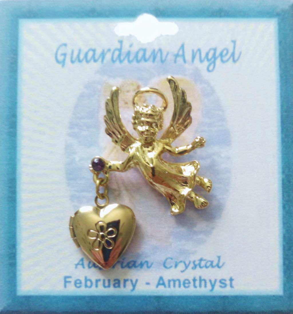 angel sterling beautiful hp p in silver wings heart lockets guardian locket fine
