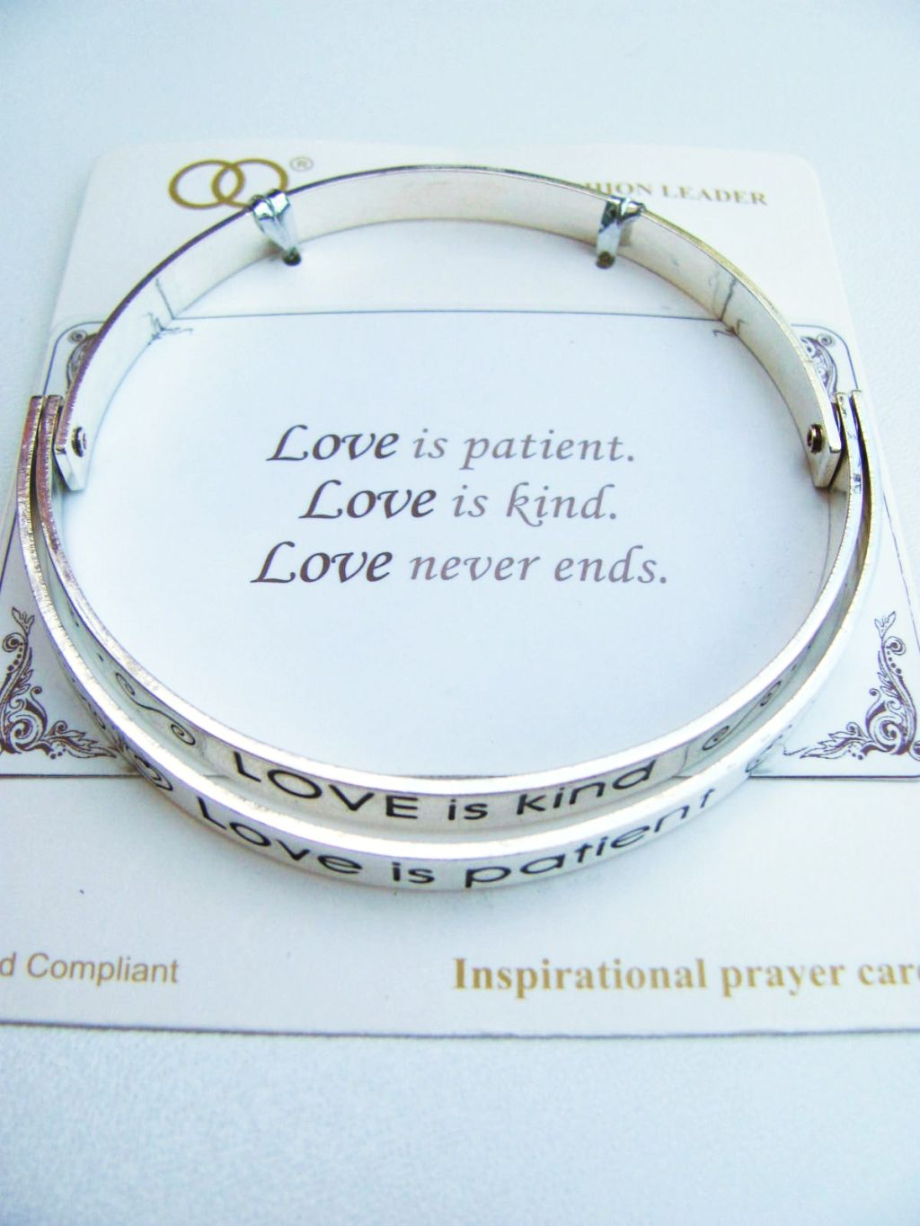 positive shine like bright diamond inspirational bracelet message a product