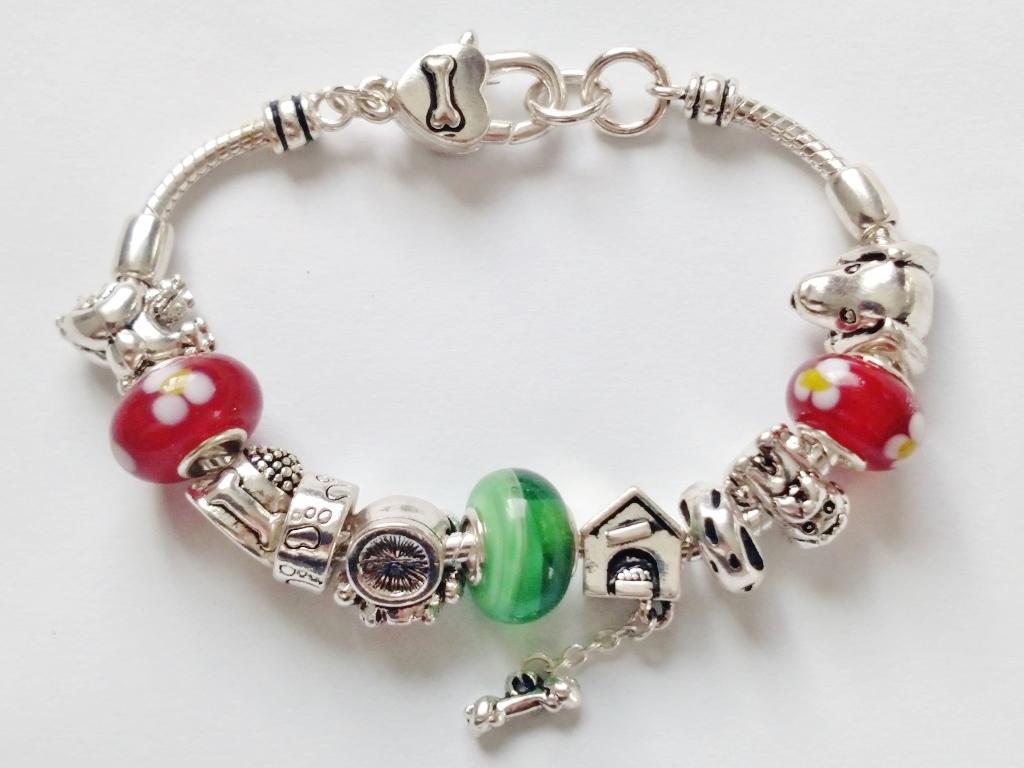 pandora inspired lover charm bead bracelet house