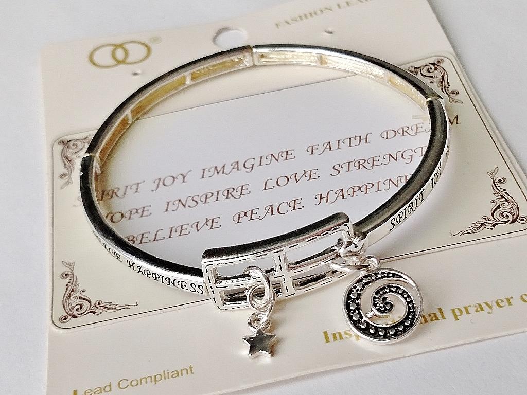 handmade product did bracelet so rectangle could inspirational mom message bracelets she for engraved leather fashion charm james new quote jewelry believed