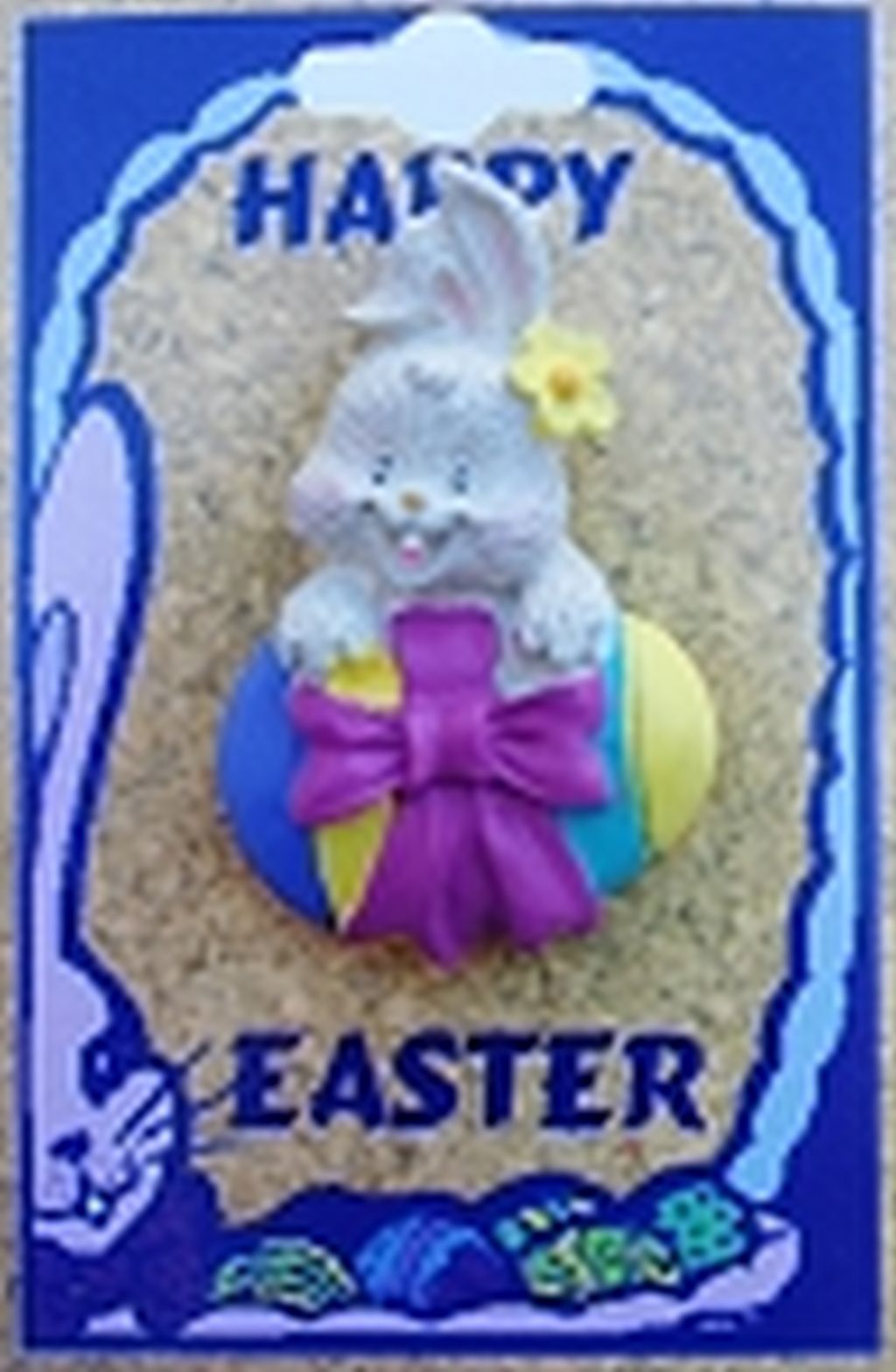 Easter Bunny & Egg Brooch Pin