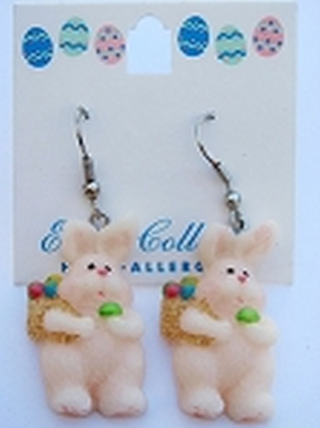 Easter Bunny & Eggs Earrings