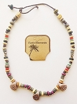 Cuba Beach Earth Elements Necklace, Spiritual Beaded Surfer Men's Jewelry