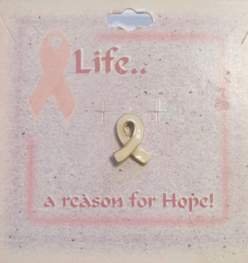 Breast Cancer Awareness Pin Ribbon