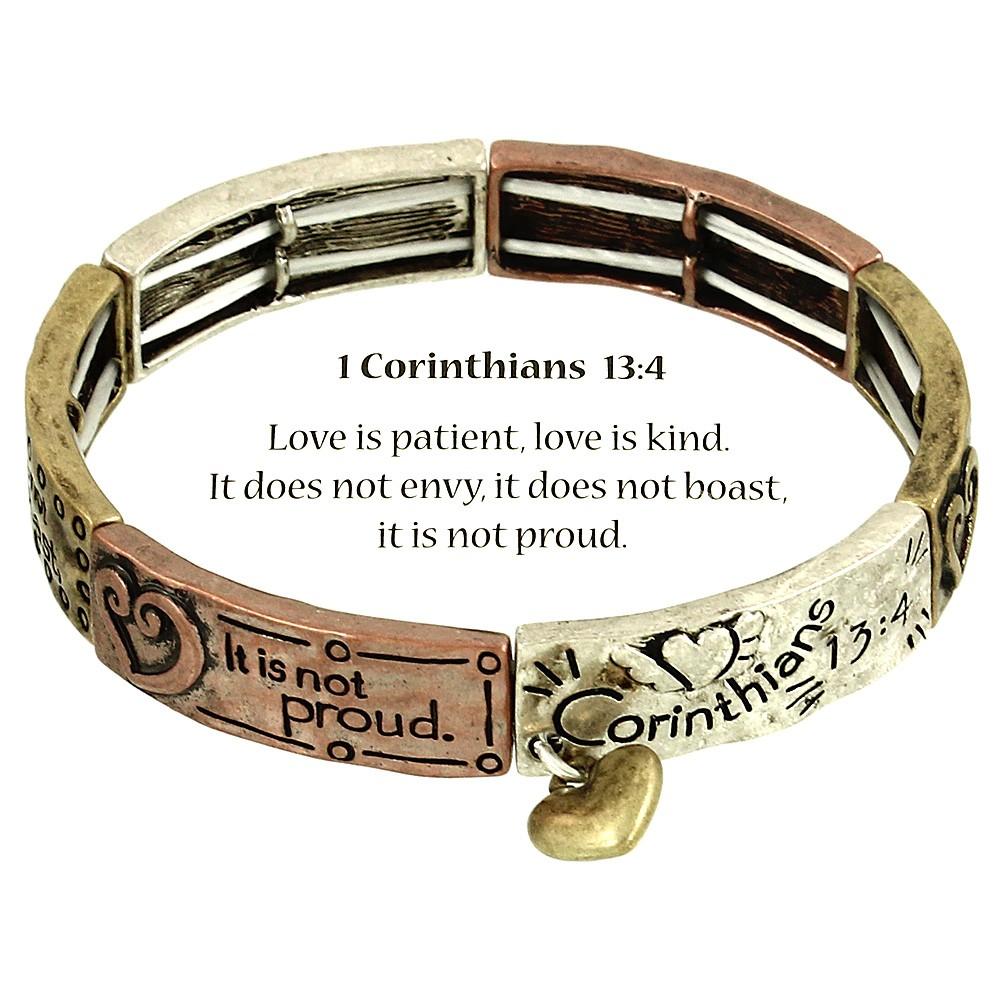 Love Bracelet 1 Corinthians 13 4