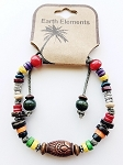 Hawaii Beach Earth Elements Bracelet, Spiritual Beaded Surfer Men's Jewelry