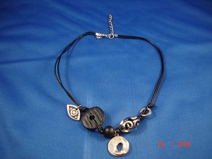 Black Evil Eye Genuine Leather Necklace, Protects from Evil Spirit, European Fashion Jewelry