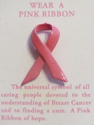 Breast Cancer Awareness Pink Ribbon of Hope
