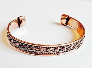 Magnetic Copper Cuff Bracelet, Arthritis Natural Cure